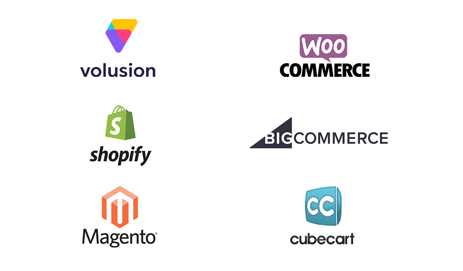 Web Design Services for Volusion, WooCommerce, Shopify and other major ecommerce platforms.