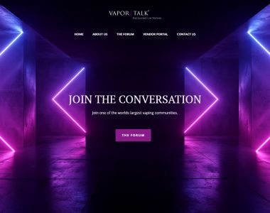 Vapor Talk Global Landing